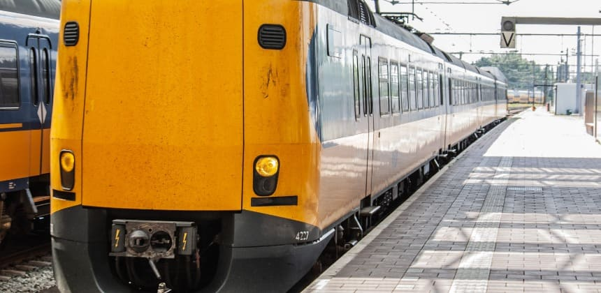 train in rotterdam