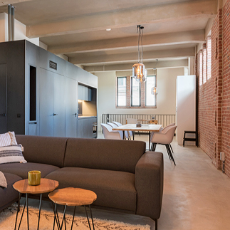 Visit the most stylish lofts of Pakhuis in Tilburg