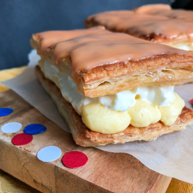How to bake traditional Dutch tompouces