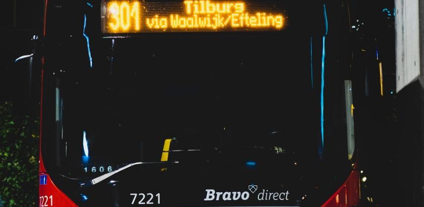 bus in Tilburg