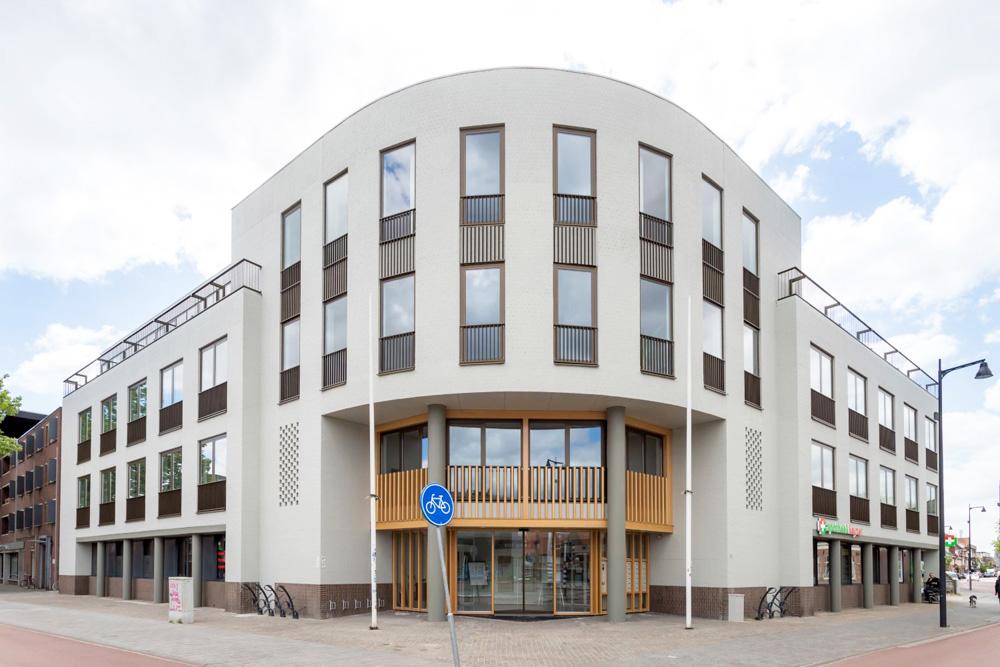exterior building Hoog Bergen in Eindhoven