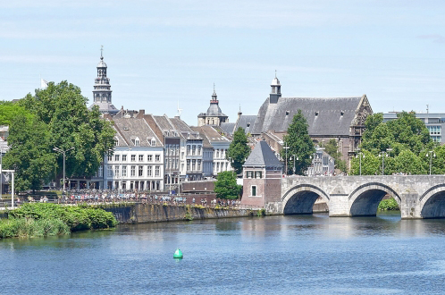 historical european town maastricht