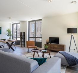 interior apartment Amonet in Maastricht
