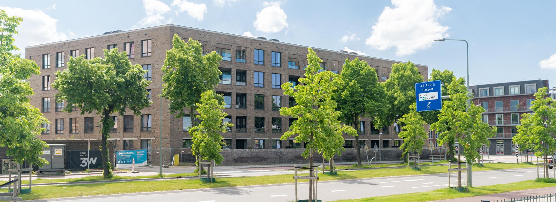 exterior of Amonet in Maastricht