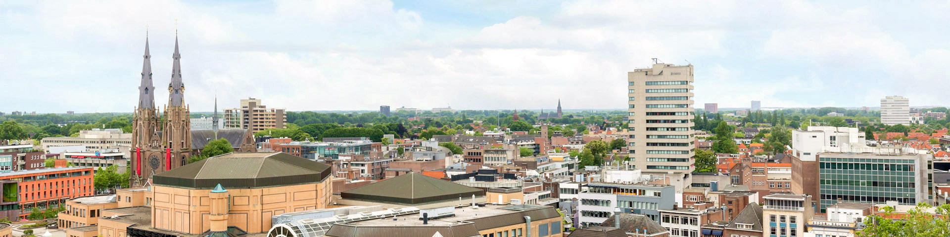 view of Eindhoven city
