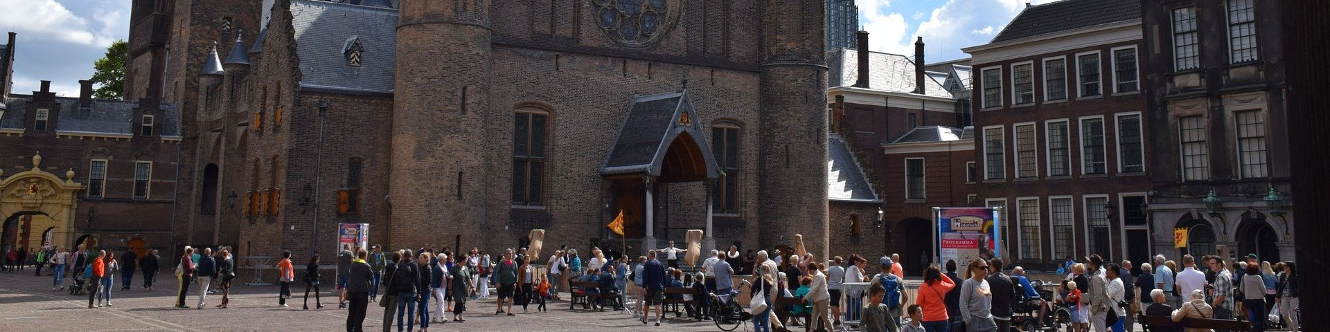 church at the market square in The Hague