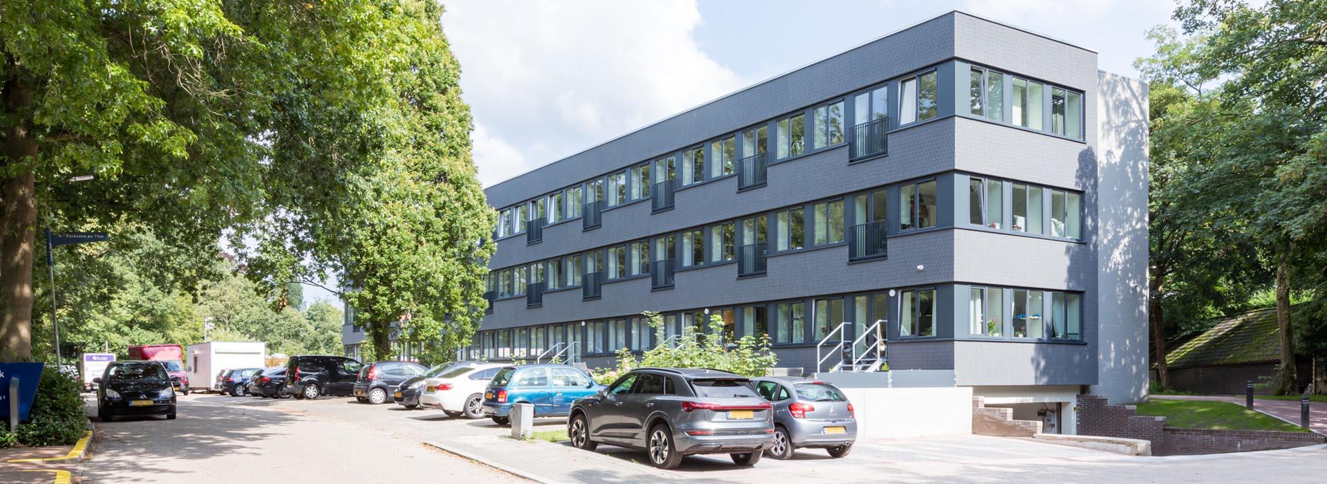 Exterior building Lorentz in Zeist