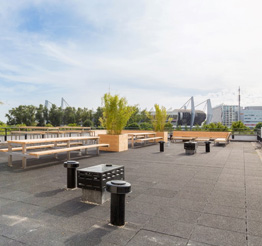 rooftop terrace BD7