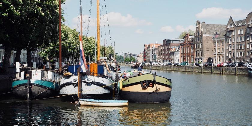 harbor in Dordrecht