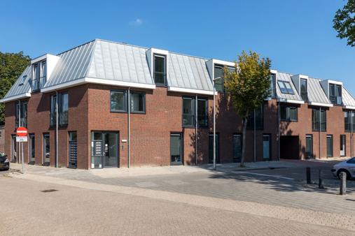 exterior building Vlootkwartier in Eindhoven