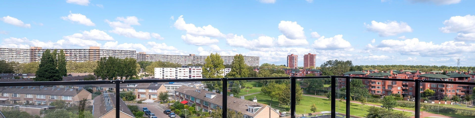 view from The Sparkle over Capelle aan den IJssel