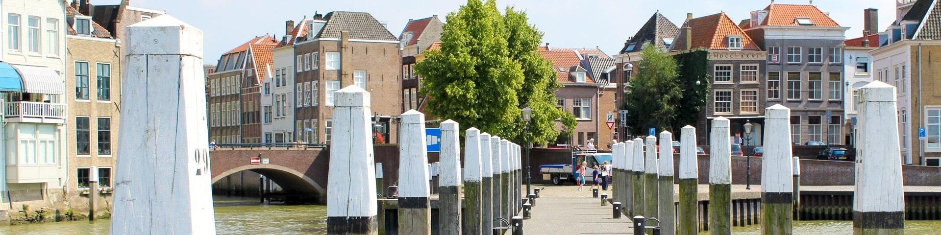 Dutch harbor in Dordrecht