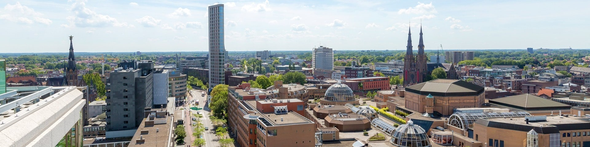 Eindhoven city view