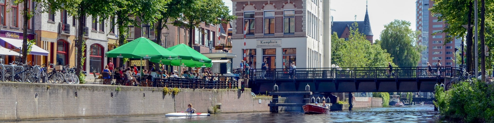 Kamphuis along the canal in Groningen