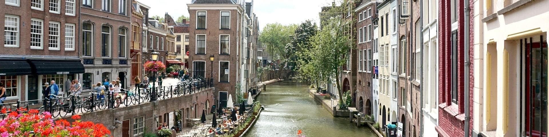 view of Utrecht canal