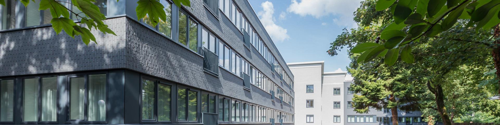 exterior of building Lorentz in Zeist