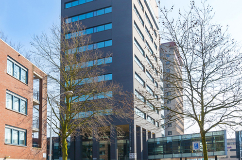 exterior building City Tower in Eindhoven