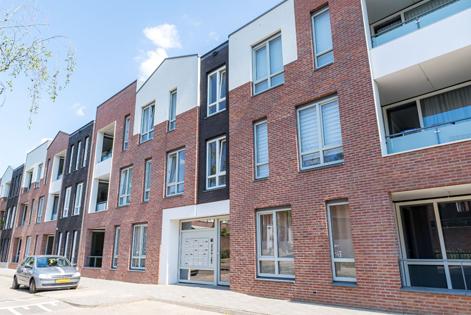 exterior building Clairendael in Arnhem