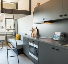 kitchen in DOK01 in Maastricht