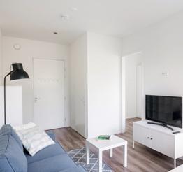 apartment in residential building Einstein