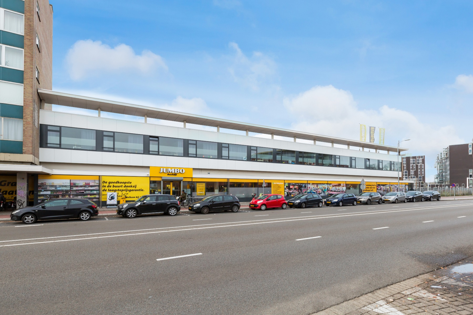 exterior building Jumbo Studios in Eindhoven