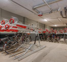 bike shed in QM Studios
