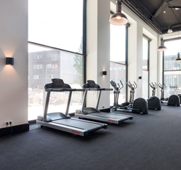 gym The Lee Towers in Rotterdam