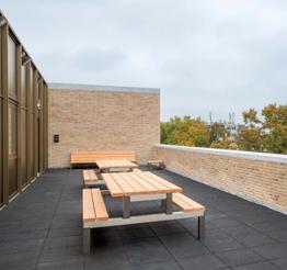 Nijenoord rooftop terrace