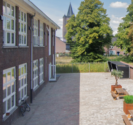 window view from Oude Toren