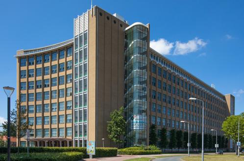 exterior building Philips Bedrijfsschool in Eindhoven