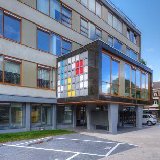 exterior building QM Studios