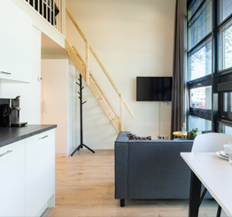modern loft in The European