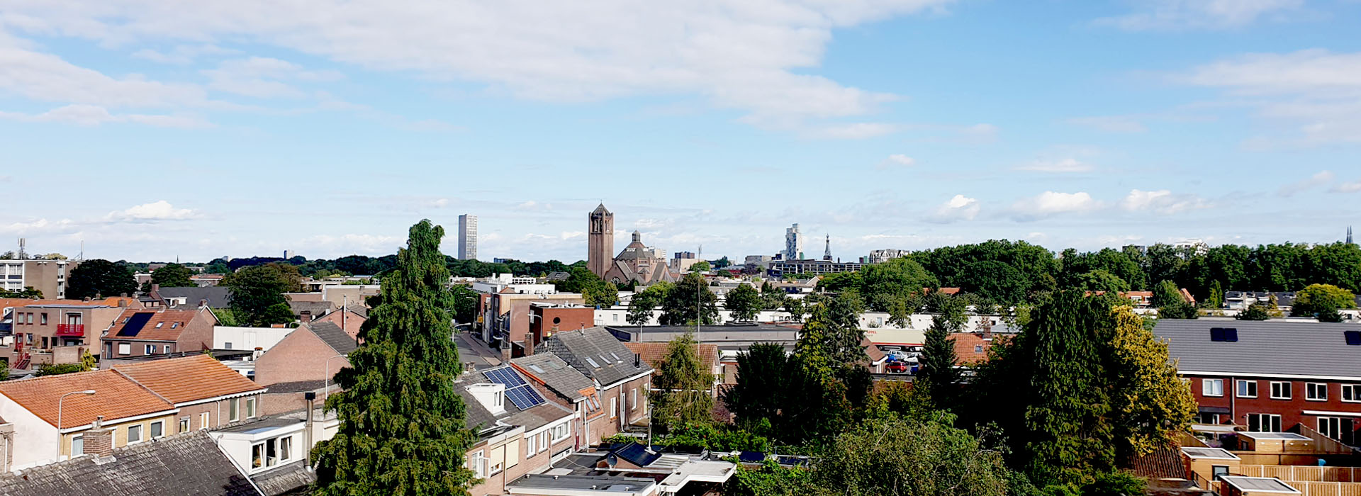 rooftop view of Tilburg