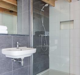 modern and bright bathroom