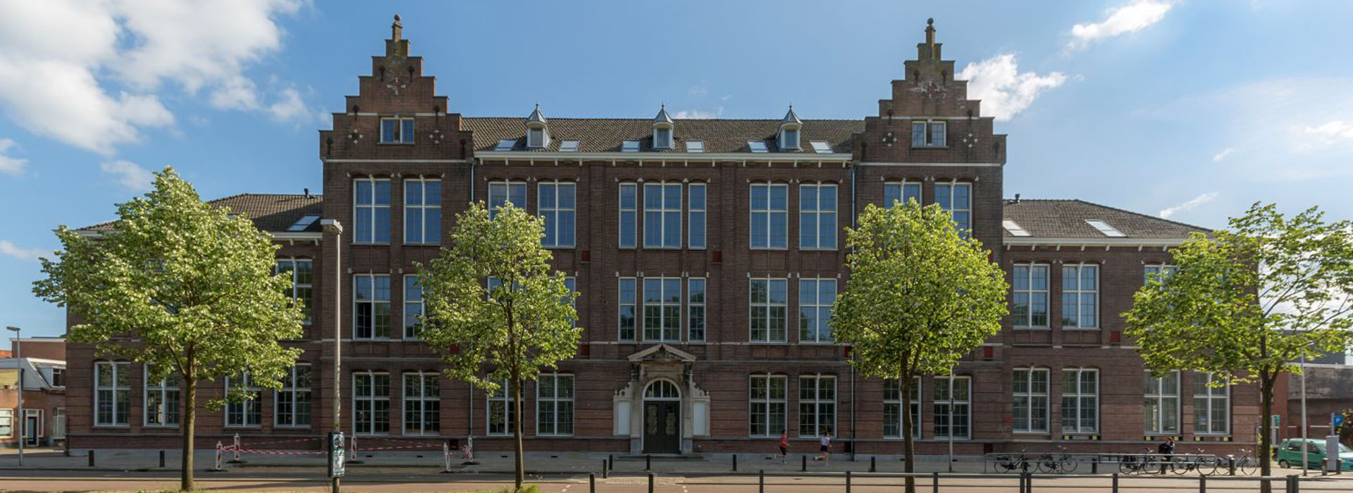 historical dutch building renovated to an apartment complex