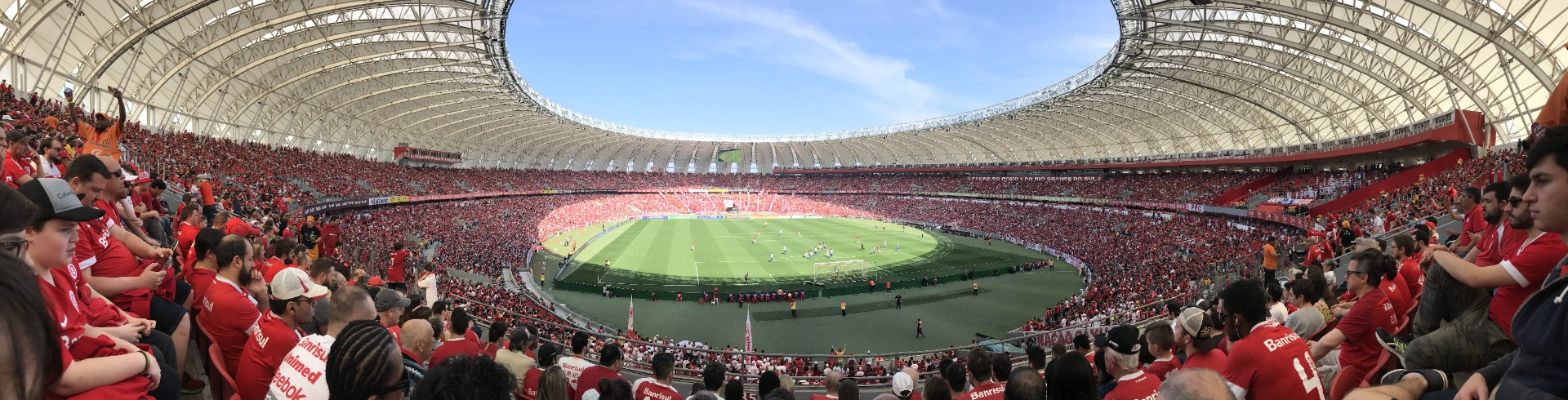 football stadion with crowd