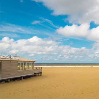 beach in the Netherlands