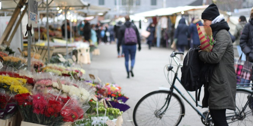 Bicycle on the market