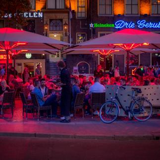 terraces in Groningen