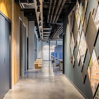 interior hallway head office Holland2Stay