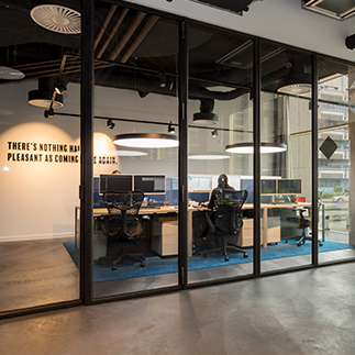 interior head office Holland2Stay
