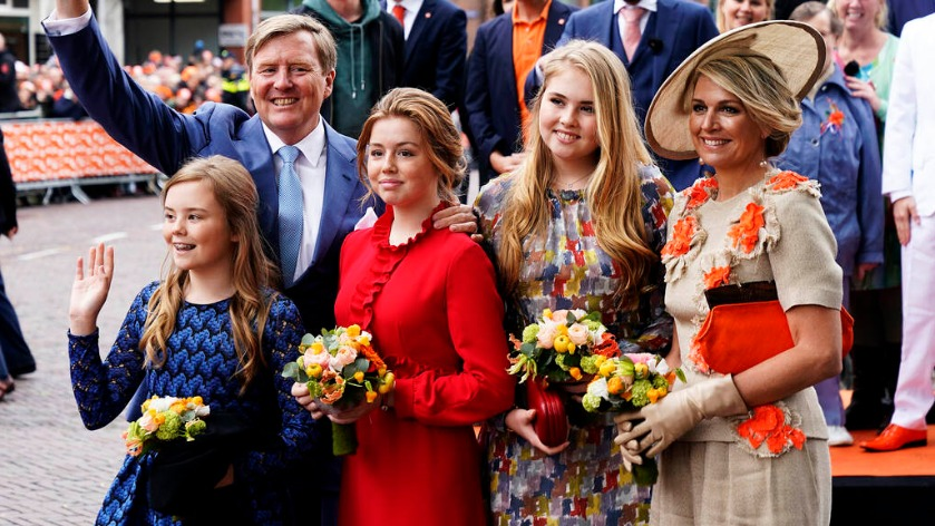 Royal Family visit on King's Day