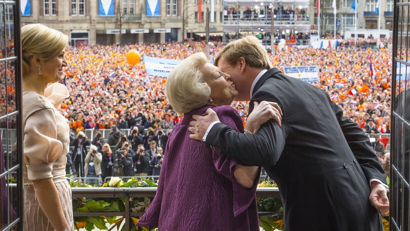Inauguration of King Willem-Alexander in 2013