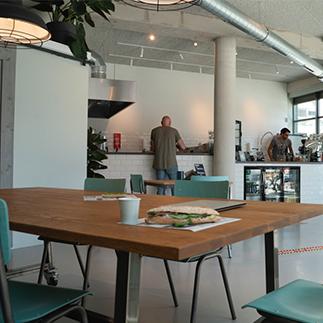 cafe interior in Diemen