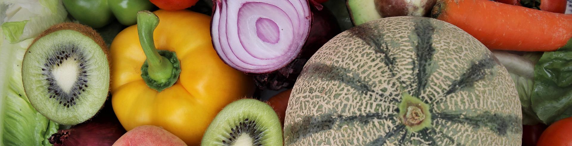 fruits and vegetables together