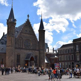 market in The Hague