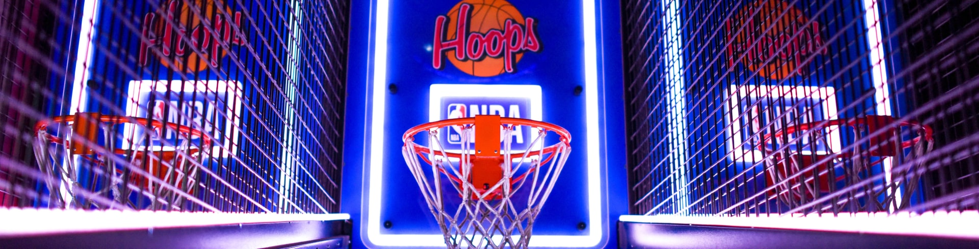 basketball game in arcade